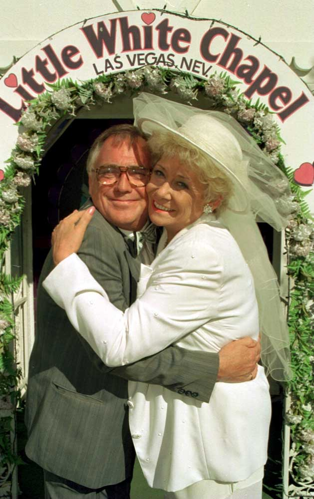 Jack and Vera have their marriage blessed in Las Vegas, September 1997