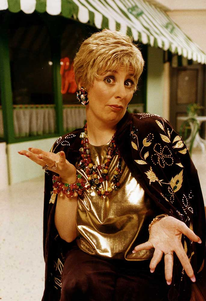 Victoria Wood in her Christmas TV special All Day Breakfast, December 1992