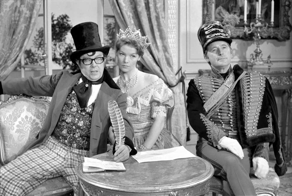 Glenda Jackson plays Queen Victoria in the Morecambe and Wise Christmas show, December 1972