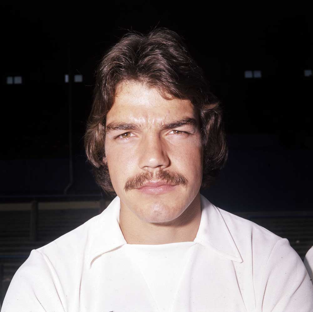 Defender Sam Allardyce during his playing days in the North West, August 1975
