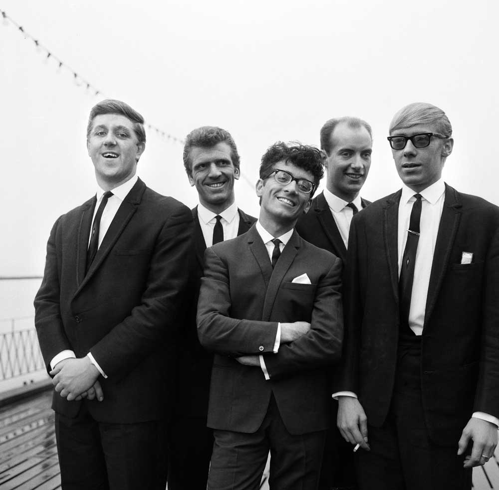 Manchester band Freddie and the Dreamers, September 1963