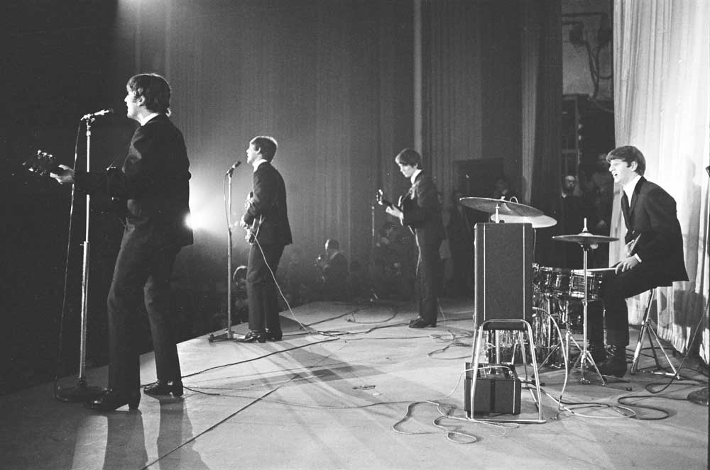 Before the fuses blew – the Beatles on stage at the Olympia Theatre, January 1964