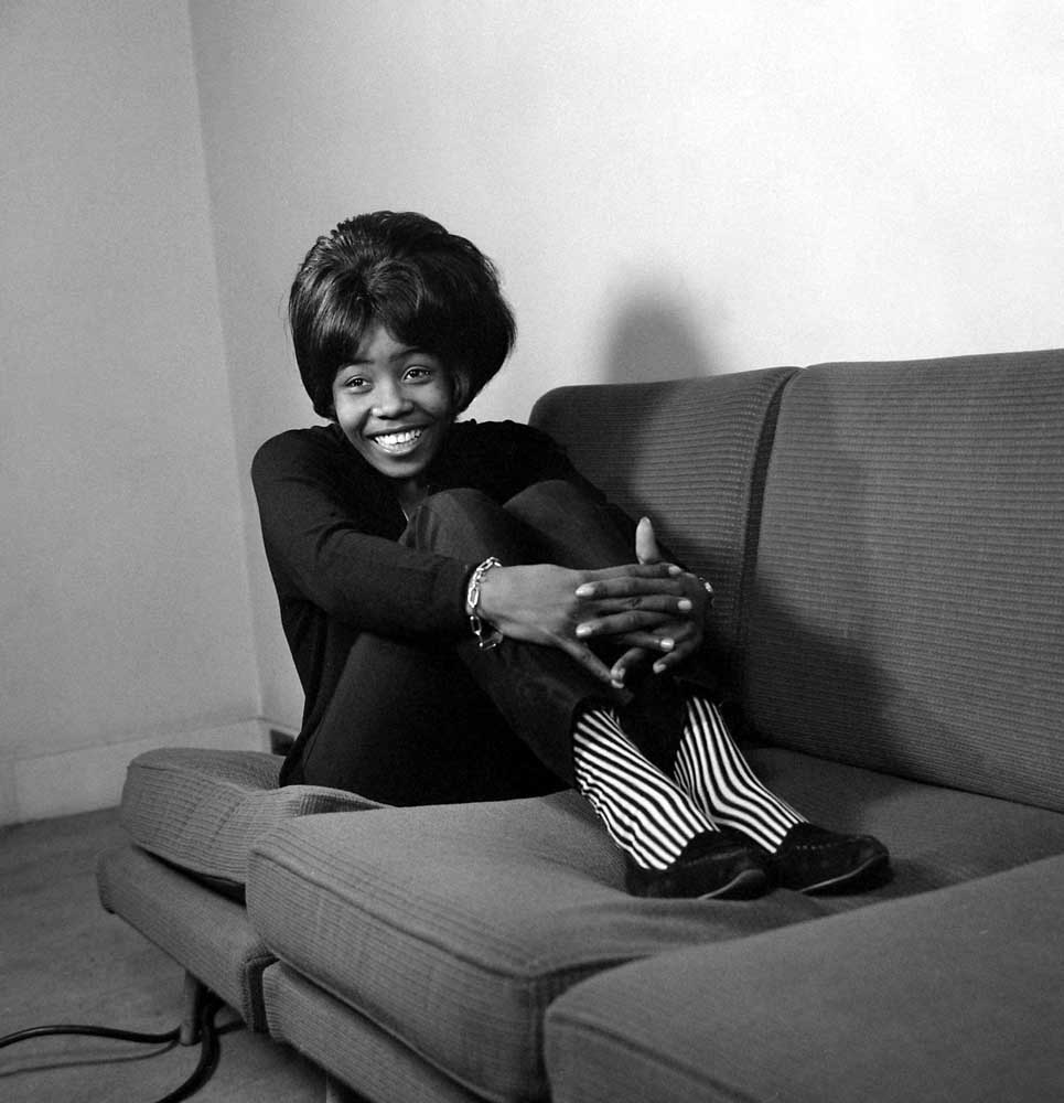 Bluebeat singer Millie Small, February 1965