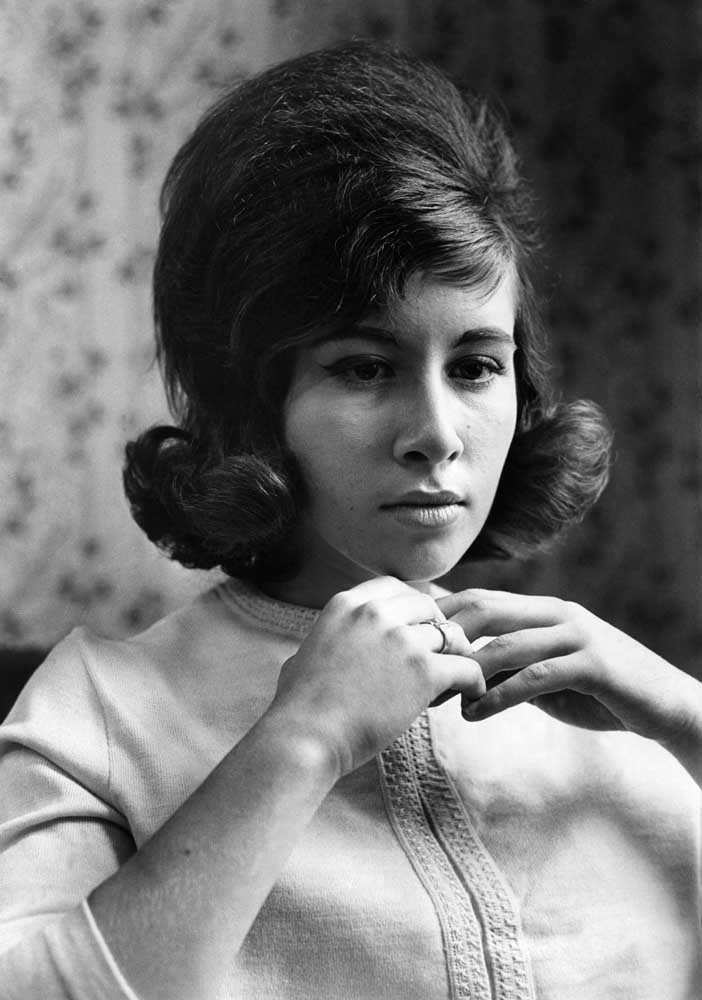 Singer Helen Shapiro, who starred with Billy Fury in the movie Play It Cool, June 1964