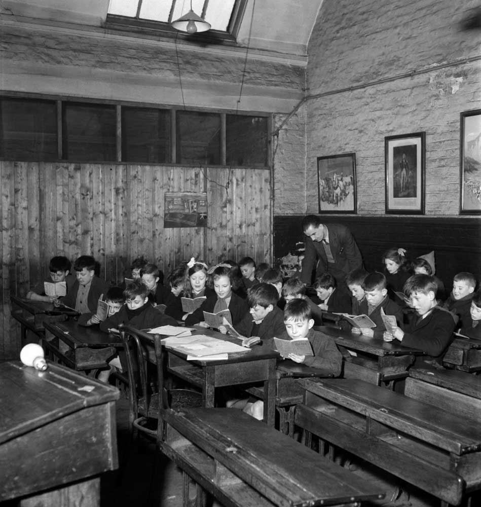 Conditions almost Dickensian in Manchester school at end of war