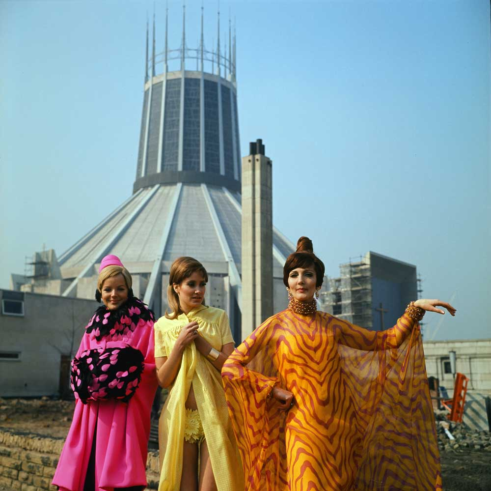 Fashion show in Liverpool