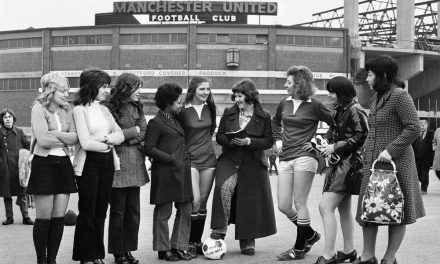Women working at Old Trafford form own football team