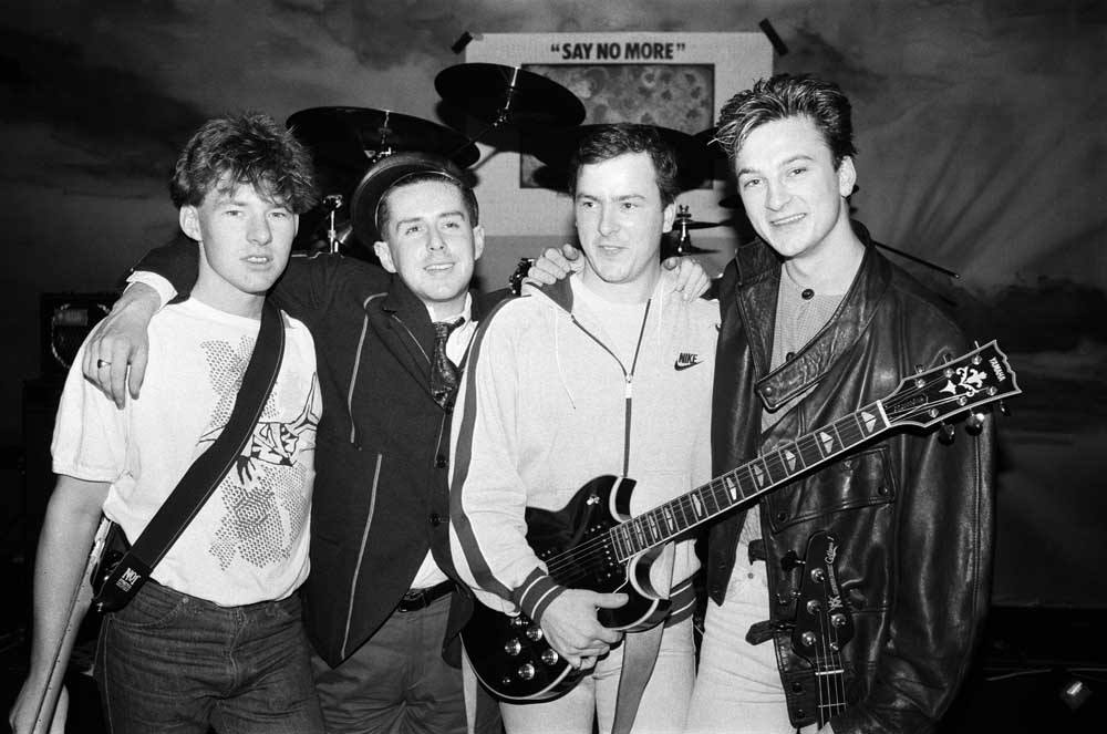 Frankie Goes to Hollywood on the eve of their US tour, October 1984