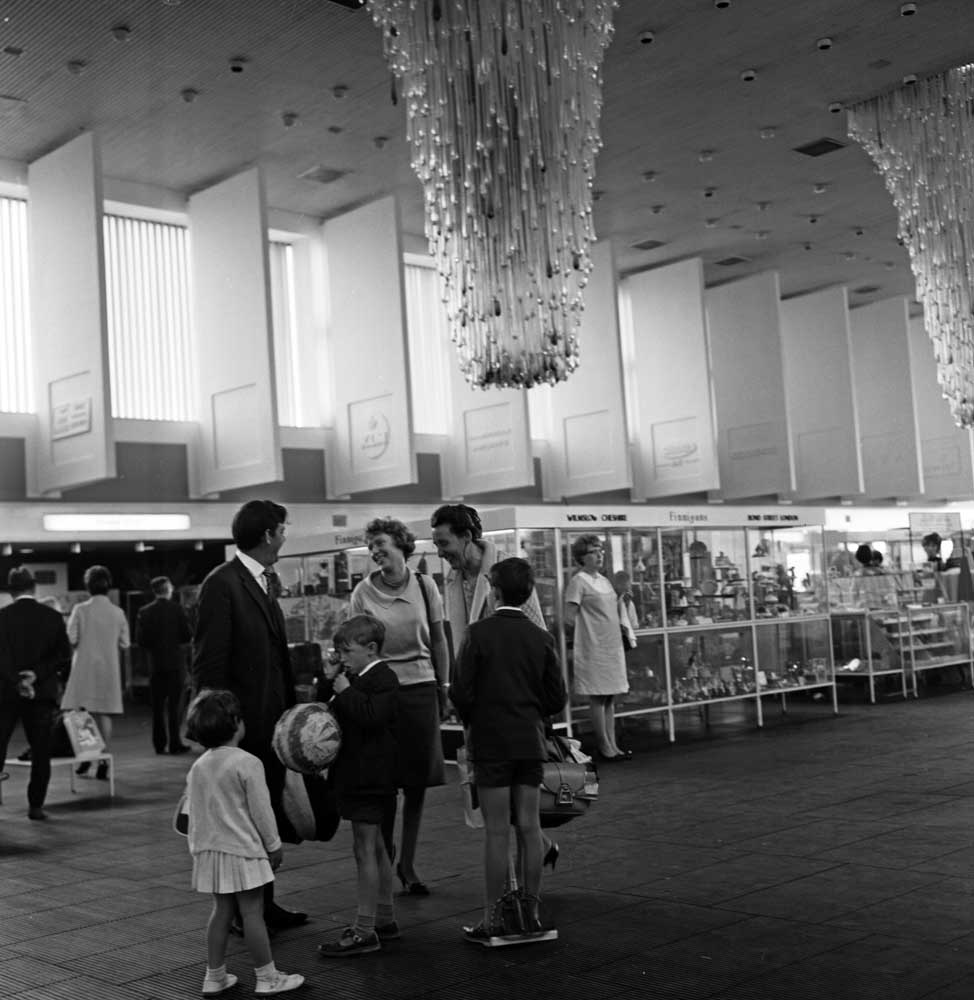 Manchester Airport, 1967.