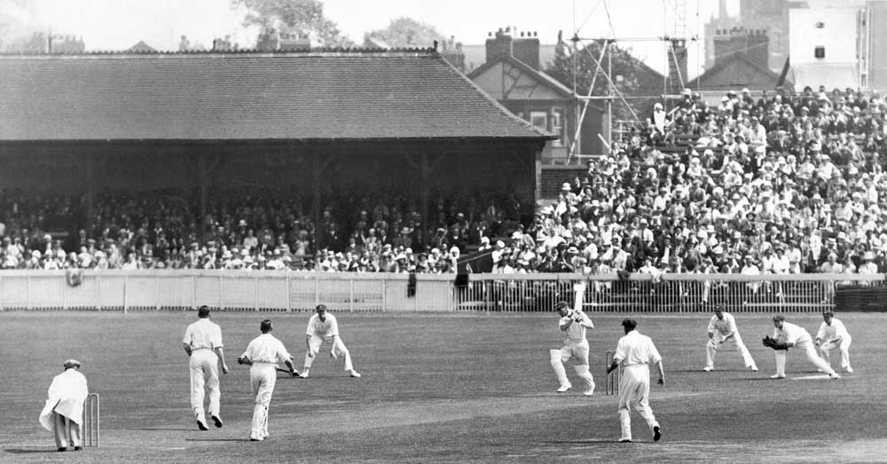 Ashes at Old Trafford 1934