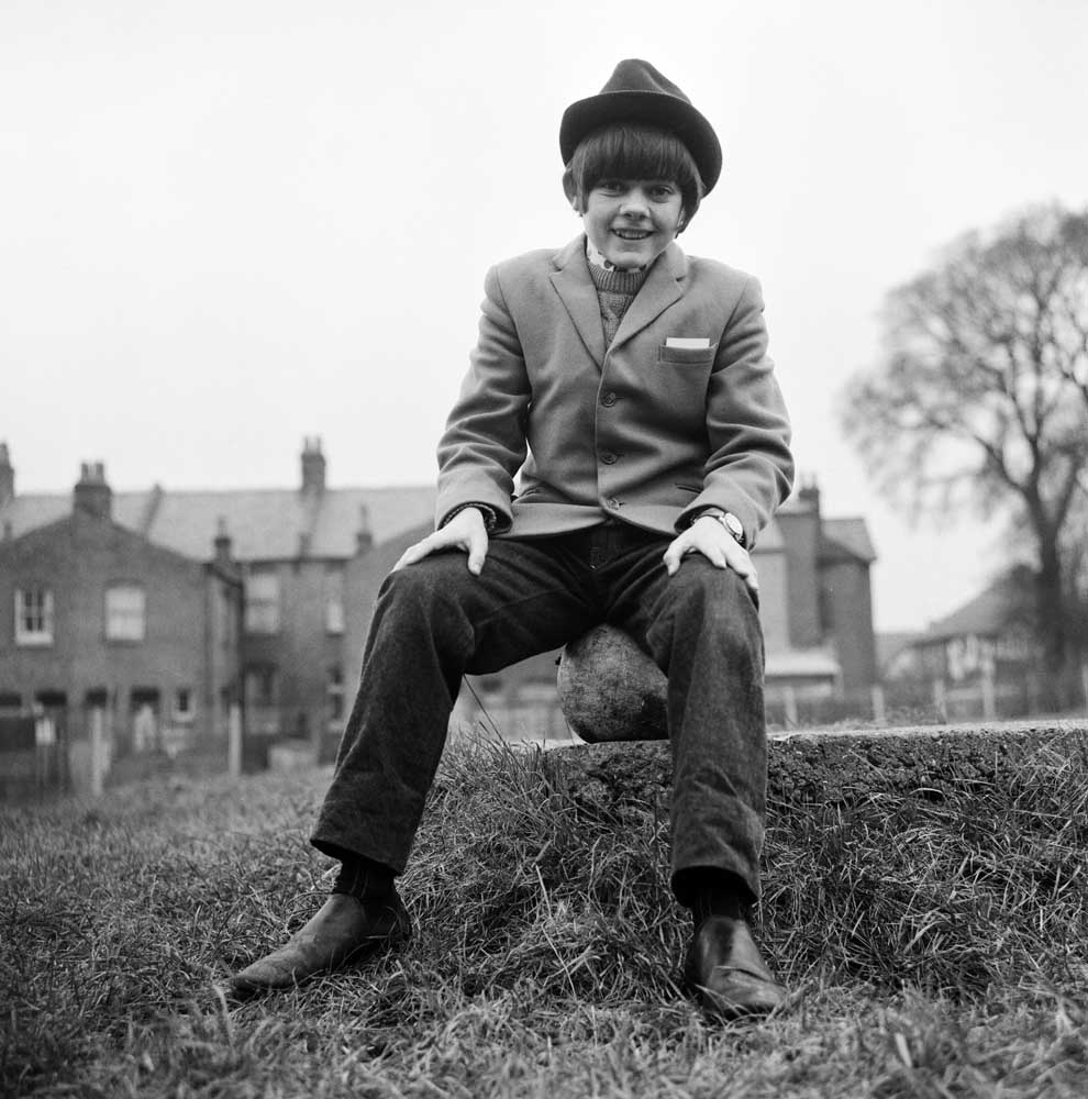 Jack Wild gets ready to play the Artful Dodger, February 1969