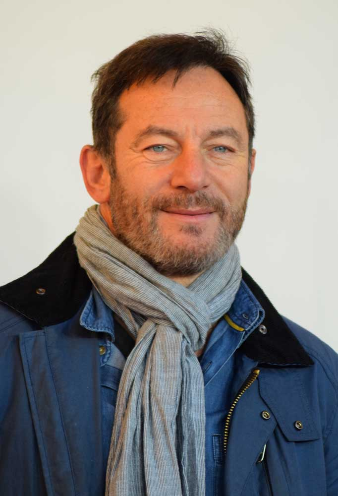 Actor Jason Isaacs who played Harry H. Corbett in the TV play The Curse of Steptoe, February 2019