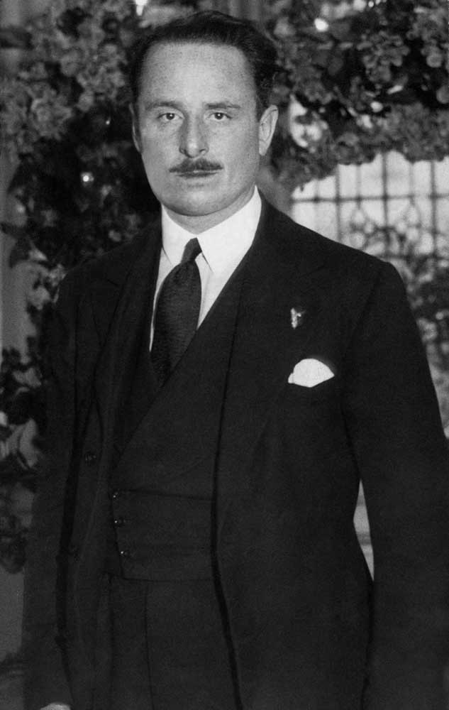 Oswald Mosley, leader of the British Union of Fascists, December 1932