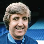 Manchester City manager John Bond lines up for the camera