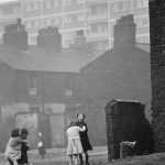 Salford slums make way for new high rise flats
