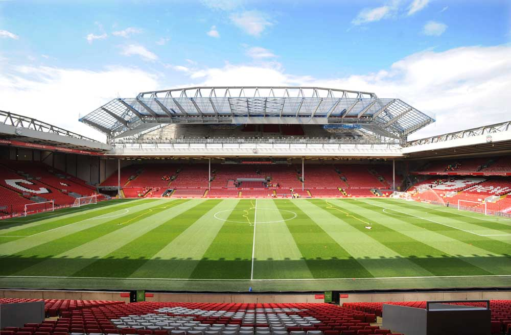 New Centenary stand at Anfield May 2016