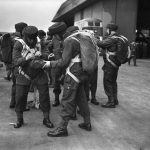 Paratroopers training at RAF Ringway