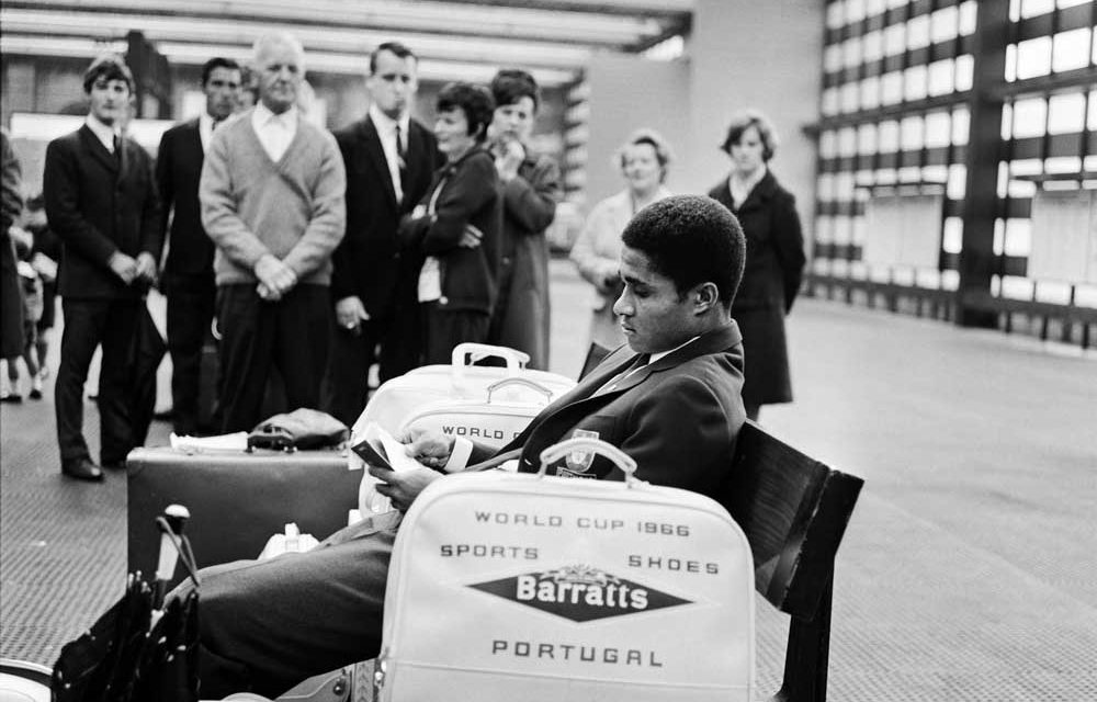 Eusebio at Piccadilly 1966
