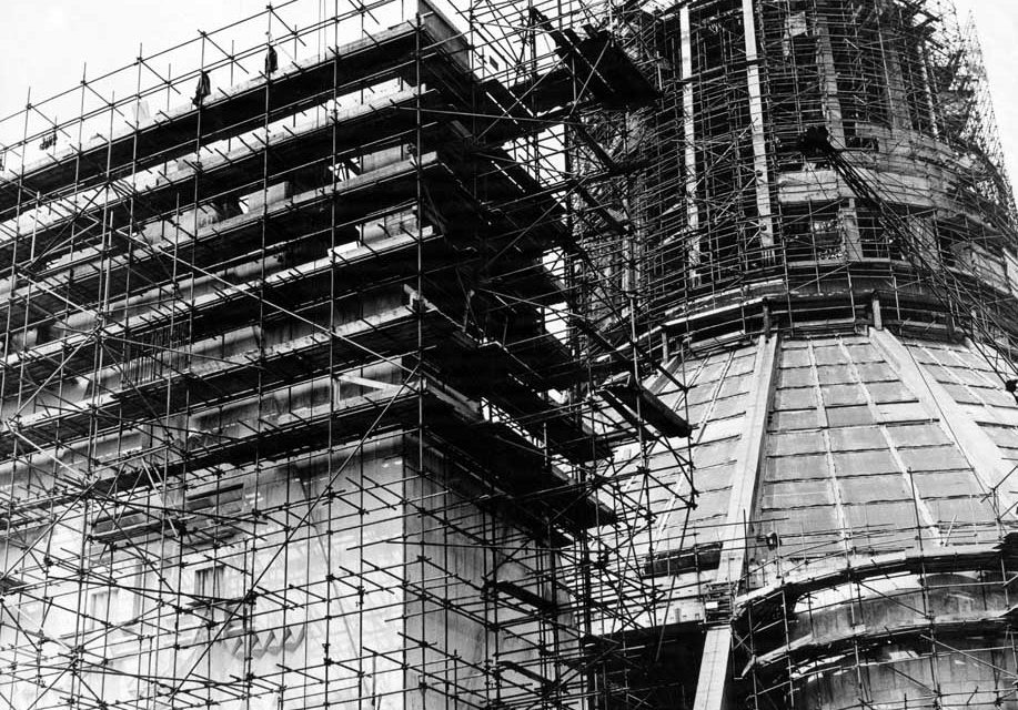 Cathedral scaffolding 1965