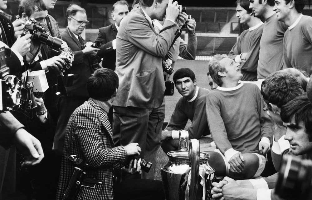 Press and European Cup 1968