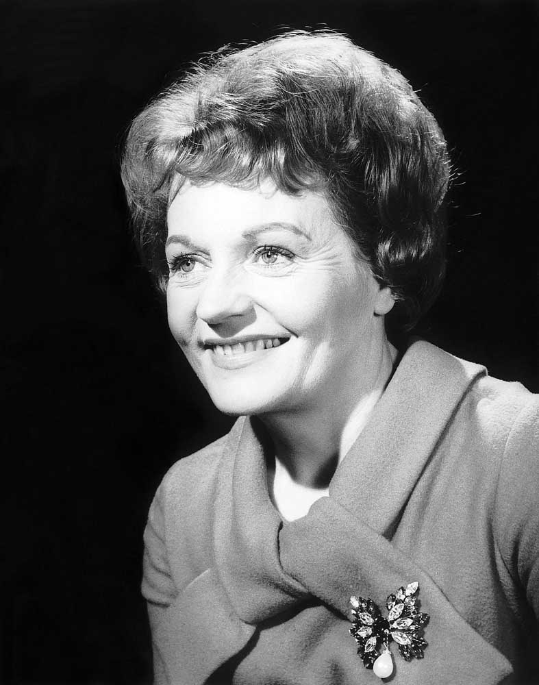 Doreen Keogh as the Rovers' first barmaid Concepta Riley, January 1963