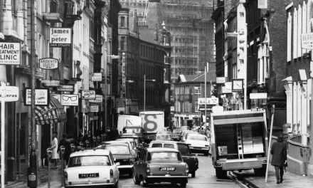 Congestion in Manchester's King Street
