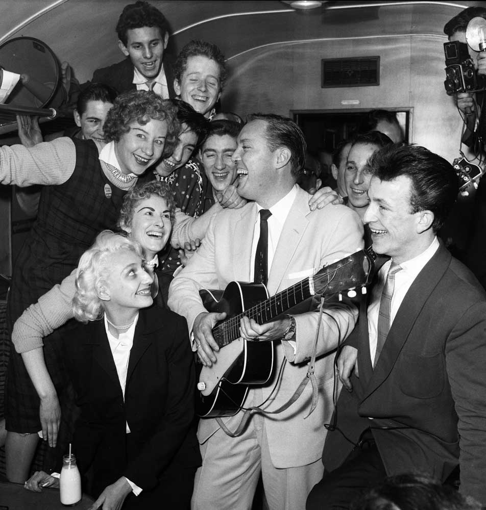 Bill Haley appeared at the Odeon, Manchester, in February 1957