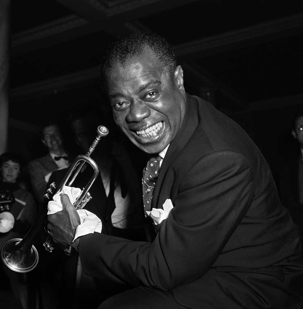 Louis Armstrong packed the Kings Hall, Belle Vue, in March 1959
