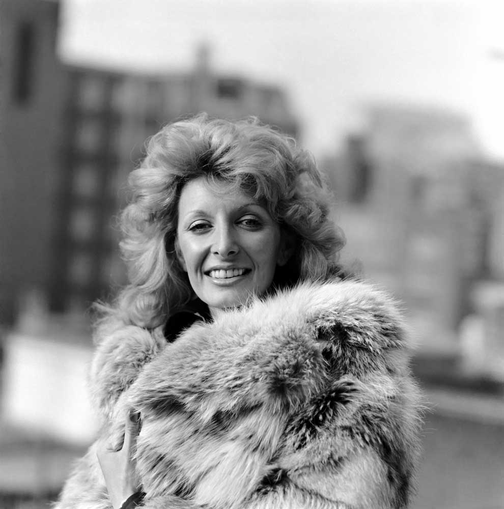 New Faces winner and later host Marti Caine, October 1975