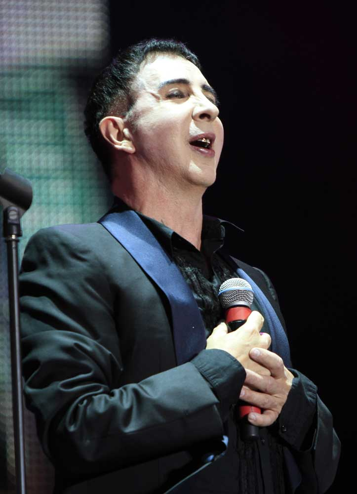 Southport singer-songwriter Marc Almond, August 2014