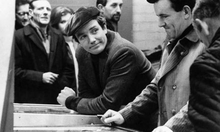 Albert Finney and Charlie Bubbles
