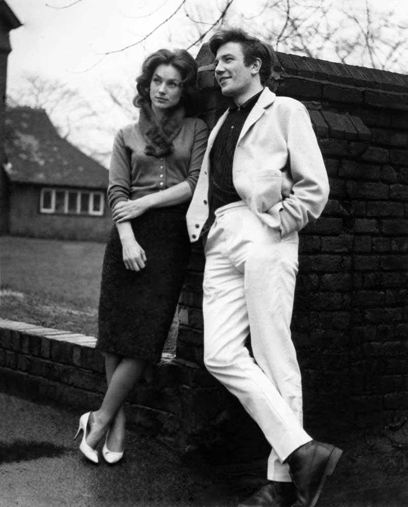 Shirley Anne Field and Albert Finney in Saturday Night and Sunday Morning, January 1961