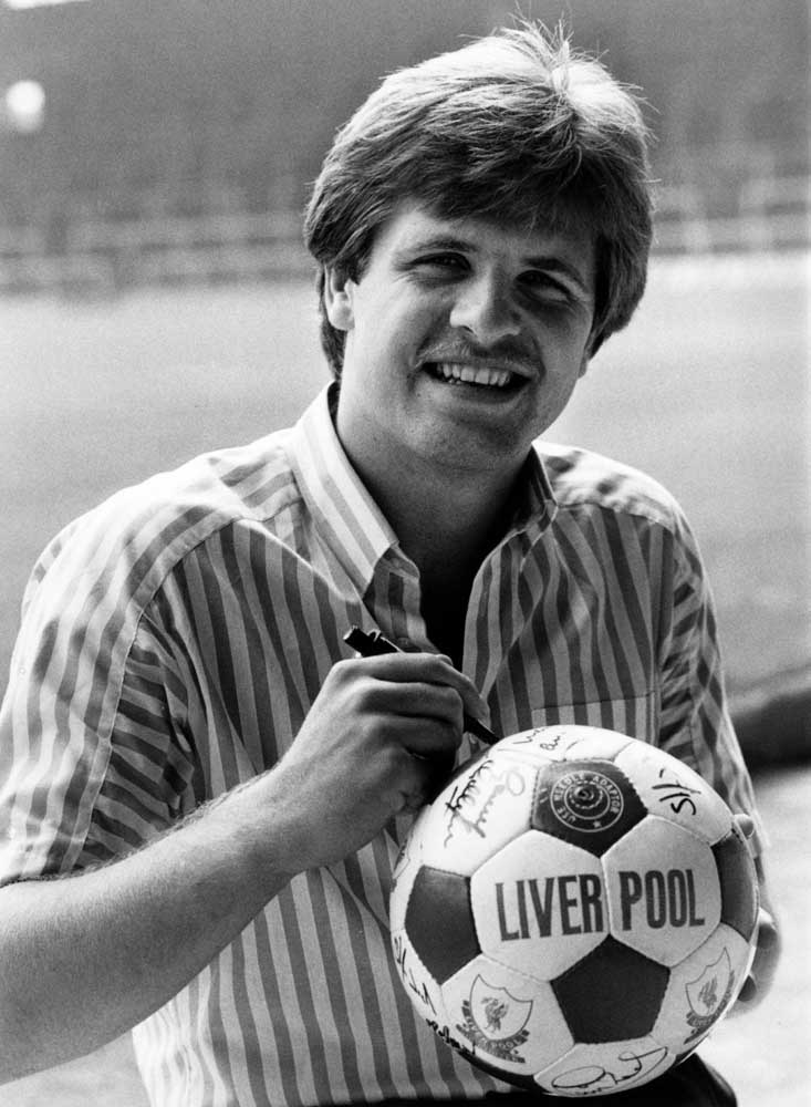 Liverpool's new signing – Danish midfielder Jan Molby, August 1984