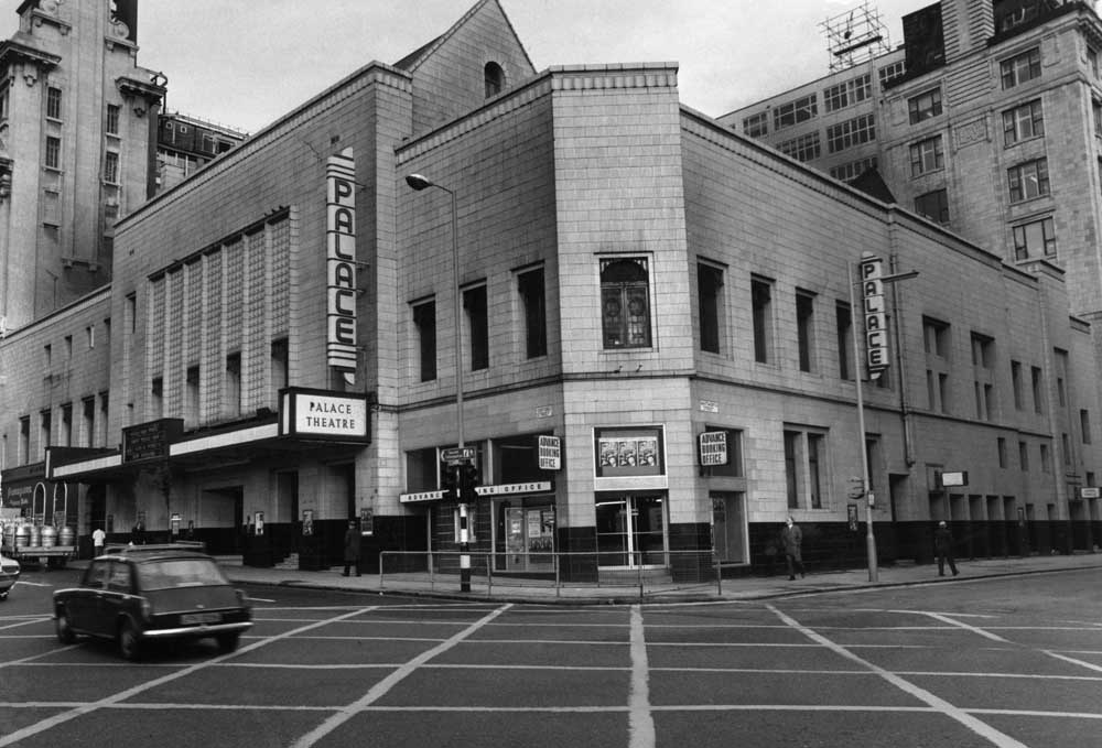 Manchester's Palace Theatre welcomed Johnny Cash in 1991