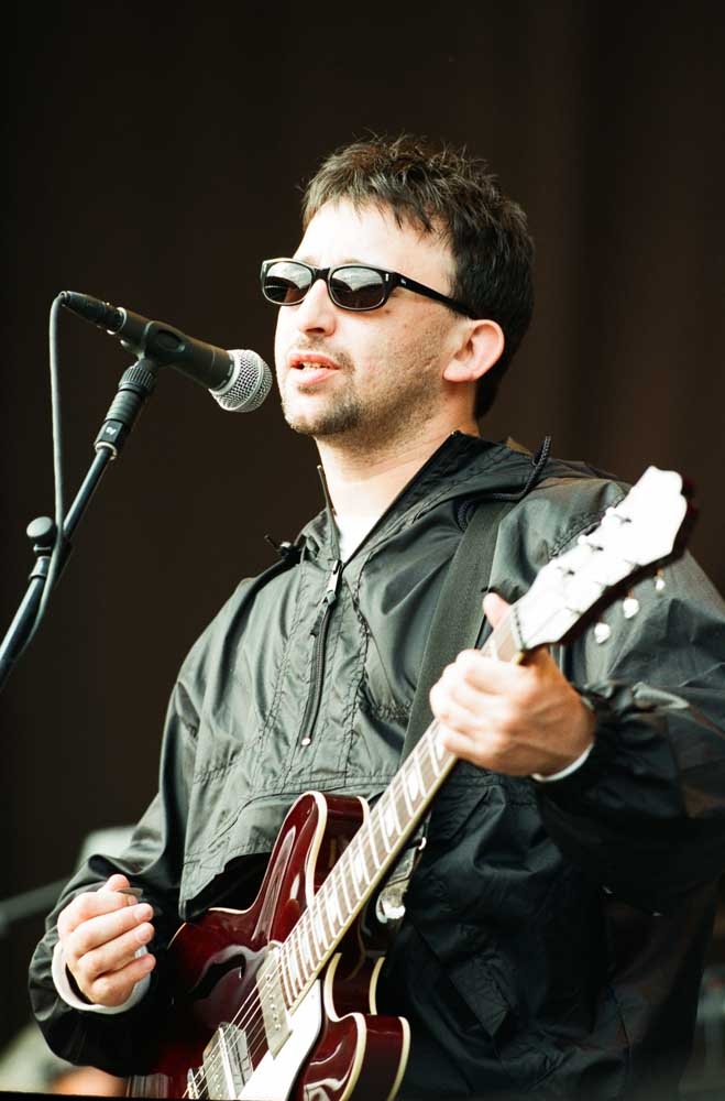 Ian Broudie, front man of the Lightning Seeds, July 1997