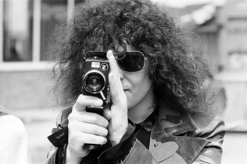 Marc Bolan behind the camera, June 1972