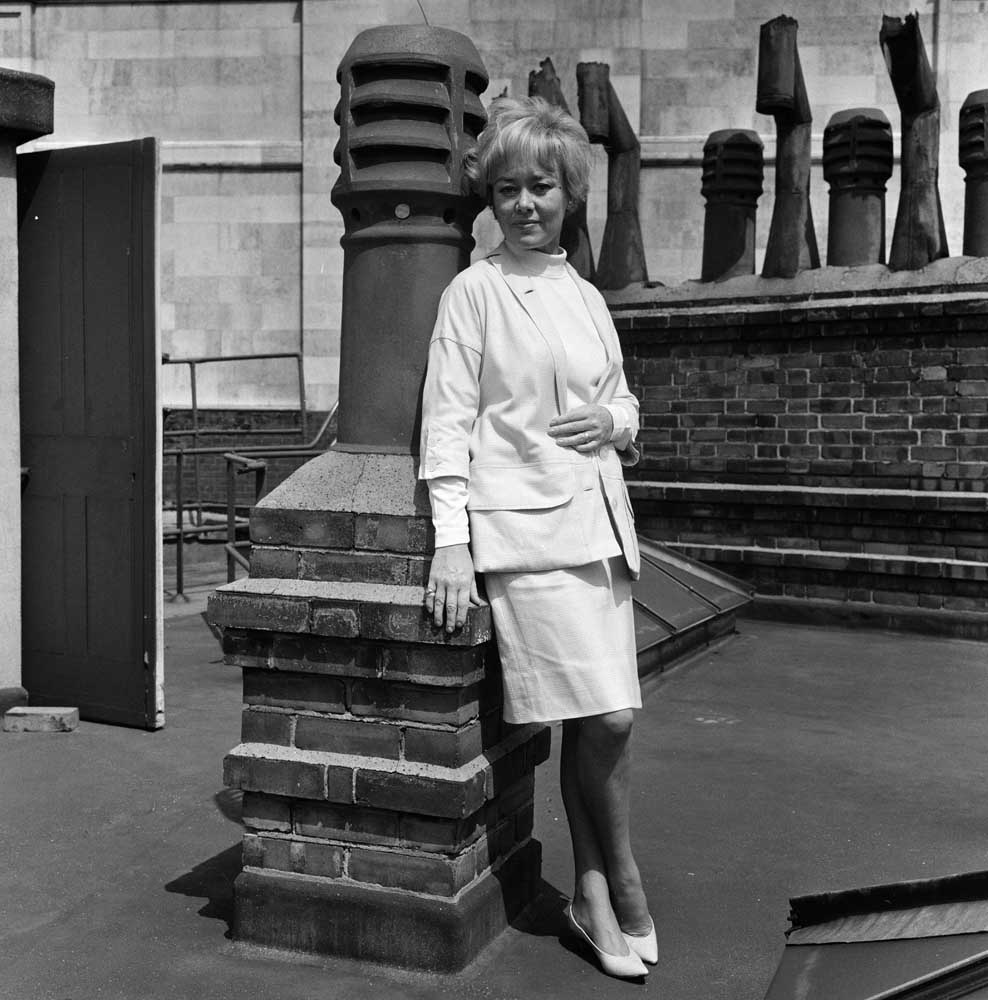 Glynis Johns played Anne of Cleves at the Royal Court Theatre, May 1966