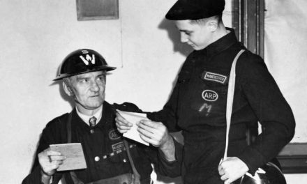 ARP warden gives vital comms during Manchester Blitz