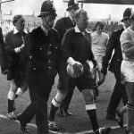 Things get heated at Maine Road