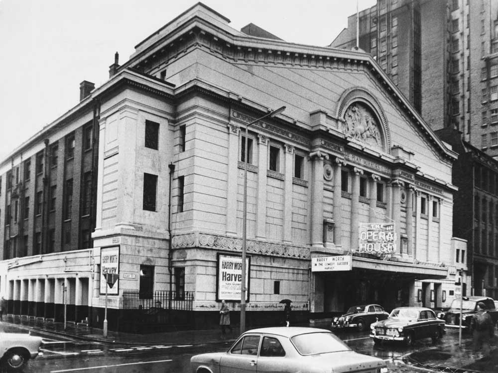 Exterior view of the Manchester Opera House