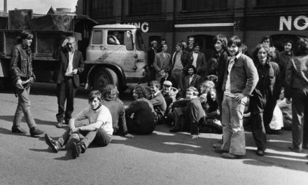 Irlam sit-down protest 1972