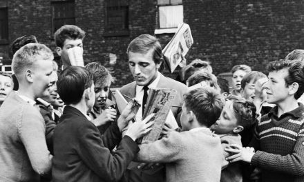 Peter Thompson and fans 1963