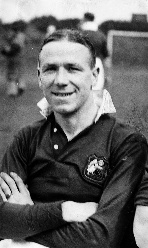 Matt Busby in his days as a Liverpool player, March 1936
