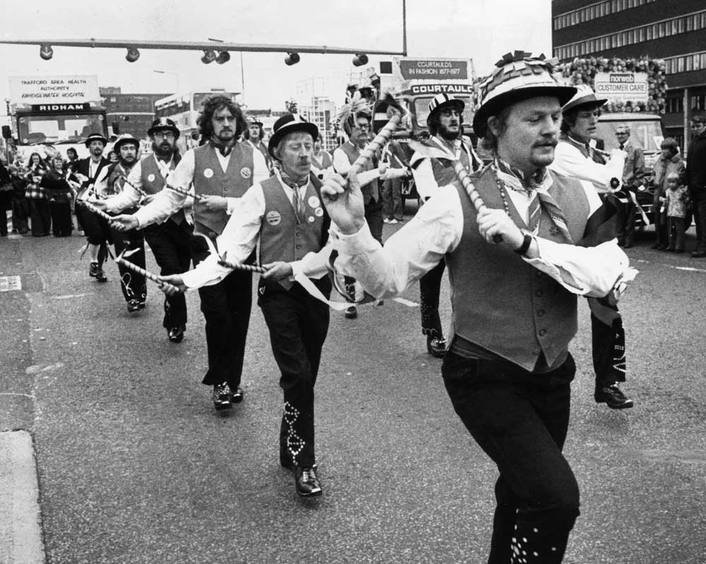 Lord Mayors procession in Manchester 1971